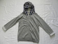 Roxy Women Spell It Out Hoody Gray or Coral Front Zip Sweater Sz Small