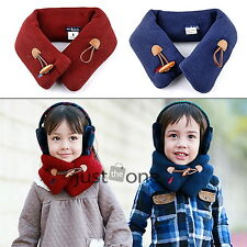 Lovely Fashion Baby Boys Girls Neck Warmer Warm Winter Loop Wraps Scarf New