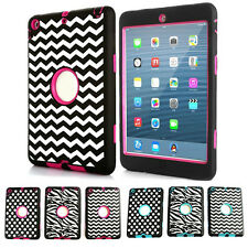 Cheap Sale Unique Design Durable Stand Case Covers for Apple iPad Mini 2 6Colors