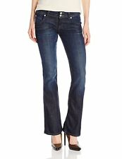Hudson Jean Petite Signature Boot Cut Flap Women Denim Size 28 - 32 Savage