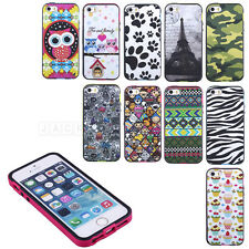Lovely Pattern Rubber Bumper Hard Protect Back Skin Case Cover