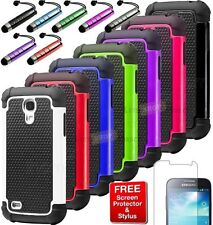 Rugged Impact Hybrid Hard Case Cover For Samsung Galaxy S4 S IV Mini i9190 i9195