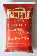 Kettle Potato Chips Bacon Cheddar Cheese Jalapena BBQ Salt Pepper Siracha 3 Bags