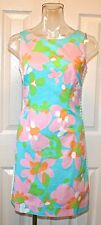 "Lilly Pulitzer Delia Dress, ""Mojo"", Shorely Blue, Sizes 0, 6, 12 NWT"