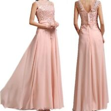 Bridesmaid Lace Model 1 Wedding Beaded Gowns Prom Formal Evening Cocktail Dress