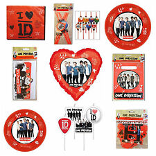 One Direction Birthday Party Theme Celebration Supplies New Design