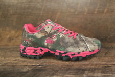 Realtree Girl Women's Mamba Tennis Shoes Sneakers in AP Green Camo with Pink