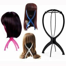 New Women Girl's Wig Hair Hat Cap Stand Holder Folding Durable Display Tool