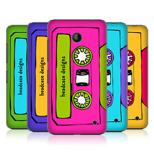 HEAD CASE MIXTAPES PROTECTIVE COVER FOR NOKIA LUMIA 630 DUAL SIM