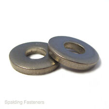 Metric Zinc Plated Steel Extra Thick Flat Spacer Washers - M3 to M20