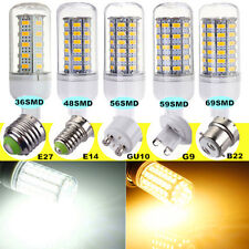 E27/E14/GU10/G9/B22 5W/7W/8W/9W/11W LED 5730-SMD Light Bulb Lamp 110V/220V NEW