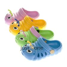 Fashion Cute for Kids Caterpillar Hole Hollow Shoes Slipper Sandal Beach Clogs