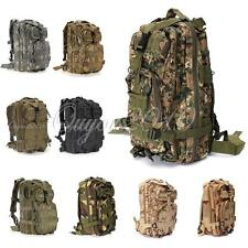 Military Tactical Army Backpack Rucksack Camping Hiking Trekking Bag Outdoor new