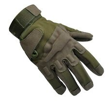 Military Tactical Airsoft Hunting CS Shooting Motorcycle Army Green Black Gloves