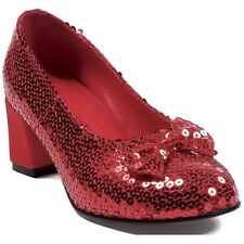 Judy Costume Shoes Adult Womens Dorothy's Red Ruby Slippers