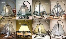 Small Mission Tiffany Style Lamp Stained Glass Arts Crafts Prairie Accent Light