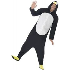 Penguin Footie Pajamas Costume Funny Adult Kigurumi Halloween Fancy Dress
