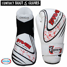 Farabi Kickboxing taekwandoo Semi Contact Boot & Gloves