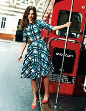 Boden Amy Cotton Summer Dress in 50's Shape UK Size 10 10R This Season