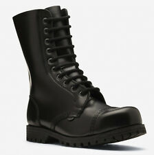 London Underground Steel Cap Toe Commando Army Boots Goth Punk Skinhead