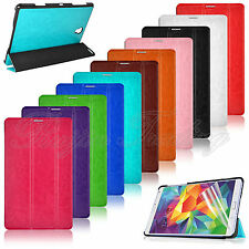 "For Samsung Galaxy Tab S 8.4"" SM-T700 Slim PU Leather Folding Case Stand Cover"