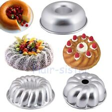 Savarin Fruit Cake Pan Bundt Bunt Round Tube Ring Icing Tin Decorating Bake Mold