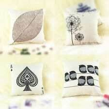 Simple Stylish 1 Pc Throw Sofa Pillow Case Home Decor Square Cushion Covers