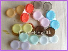 Buy 2 Get 1 Free  Contact Lens Soaking Case Storing Holder Box 10 Colours