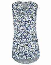 NEW LADIES GEORGE ASDA BUTTERFLY PRINT TUNIC TOP SIZE 8 -16 -24 BNWOT