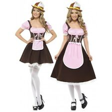 German Beer Girl Costume Adult Oktoberfest Maiden Fancy Dress