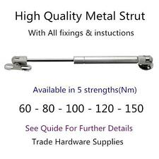 Hydraulic Gas Strut Lift Support Kitchen Door Cabinet Hinge Spring Brass Cover
