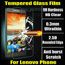 HD 0.3mm 2.5D Tempered Glass Anti-Explosion Screen Protector For Lenovo phone