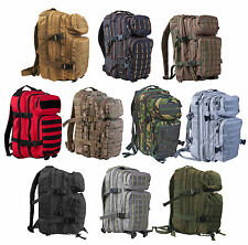 SMALL MOLLE ASSAULT MILITARY RUCKSACK PATROL BACKPACK 28 LITRE AIRSOFT HIKING
