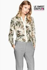 H&M NWT WOMEN´S FITTED BLOUSE FLORAL NEW SEASON AW14/15 0232002010