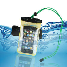 Waterproof Durable Pouch Armband Dustproof Case Cover for Samsung HTC LG Nokia