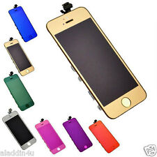 Electroplating Colored Front LCD Display Touch Screen Digitizer Kit for iPhone 5