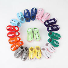 Newborn Infant Boys Nib Baby Crib Shoes Booties Socks Neonatal Modeling Socks