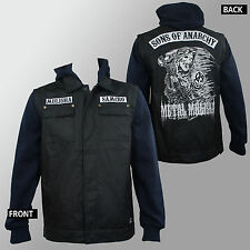 METAL MULISHA Sons Of Anarchy SOA Collab Anarchist Biker Cut Jacket S-2XL NEW
