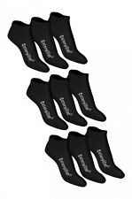CATERPILLAR Sneakers Socks Stockings Summer Booties 9 Pairs Of Black Cotton
