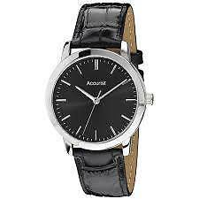 Classic Unisex ACCURIST 6 Styles MS671B-MS676WR Croc Affect Leather Strap RRP£60