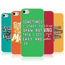 HEAD CASE A GRAPHIC DESIGNER'S LIFE TPU REAR CASE COVER FOR APPLE iPHONE 5