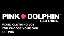 PINK DOLPHIN Mixed Items 35 PCS Tees, Jackets, Hats, Bags, Jersey, RARE ALL NEW!