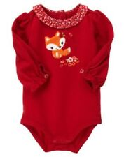 NWT GYMBOREE BABY GIRL LONG SLEEVE ONE PIECES-PREMIE,0-3 MOS 3-6 6-12 12-18MOS