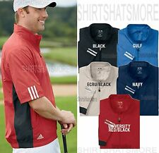 Adidas Golf Mens 1/4 Zip Short Sleeve Freedom Windshirt Jacket Windbreaker S-3XL