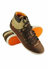 New Mens Superdry Mountain Sneakers Mid Brown SVH