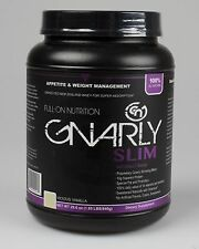 GNARLY - LOW CALORIE LOW FAT LEAN DIET NATURAL GRASS FED PROTEIN SLIM- 2 FLAVORS