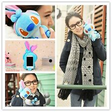 Funny 3D Cute Cartoon Dog Plush Toy Doll Case Cover For LG Cell Phones