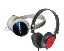 KOCASO Headphones Stereo Swivel Folding Lightweight in Black or White