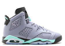 Kids Nike Air Jordan Retro 6 VI Bleached Turquoise First Championship 543390-508