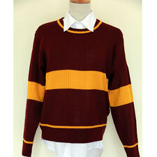 harry potter quidditch gaming sweater gryffindor slytherion ravenclaw hufflepuff